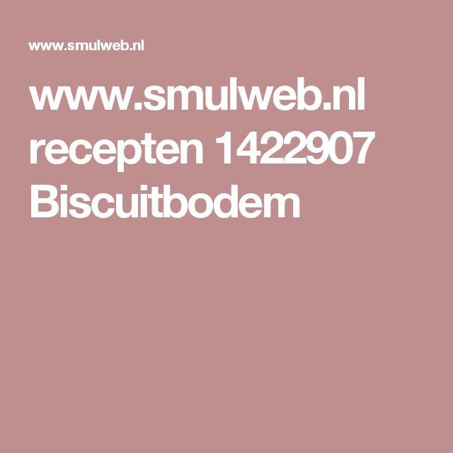 www.smulweb.nl recepten 1422907 Biscuitbodem