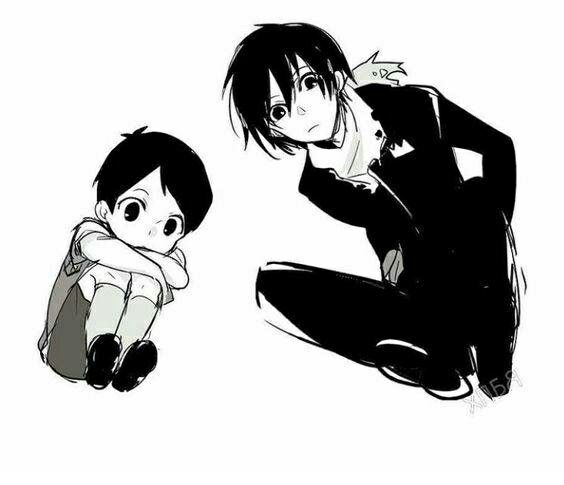 Noragami - Ebisu and Yato