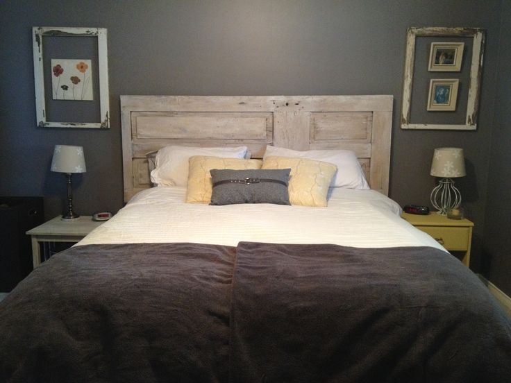 old doors headboards and doors on pinterest. Black Bedroom Furniture Sets. Home Design Ideas