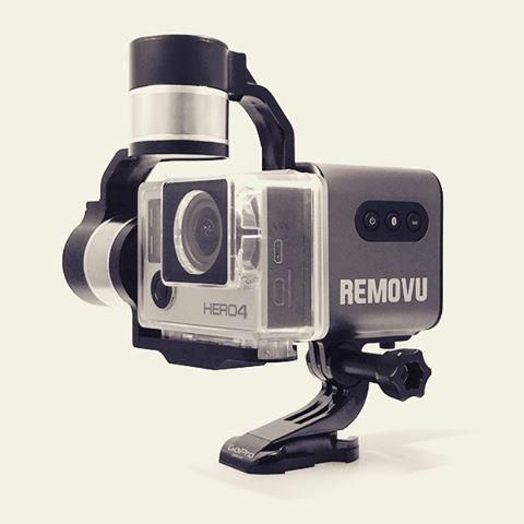.@REMOVUGlobal have made a waterproof gimbal for your GoPro! This is a Game changer for me! https://www.indiegogo.com/projects/removu-s1-gopro-gimbal-stabilizer-with-remote/x/11787390#/story…