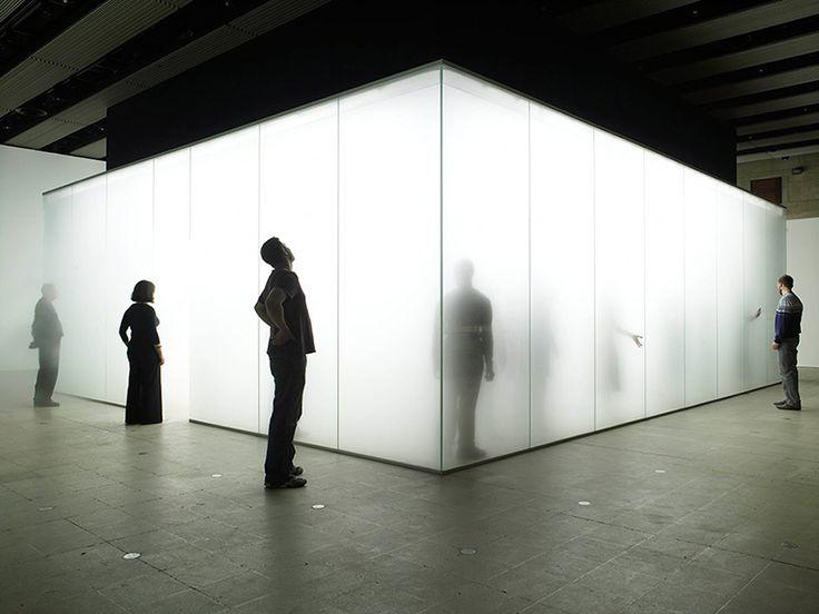 """finn-wilkie: """" Carmody Groarke, Blind Light Exhibition, London, 2007 www.carmodygroarke.com/ """""""