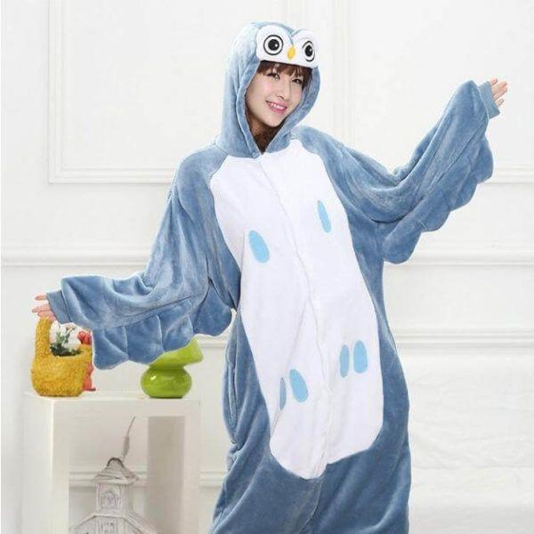 Owl Kigurumi, #owl #pajama | Use onesiesave10 #coupon for 10% off with free shipping