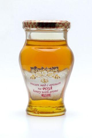 Пчелен мед с аромат на Роза - 260гр