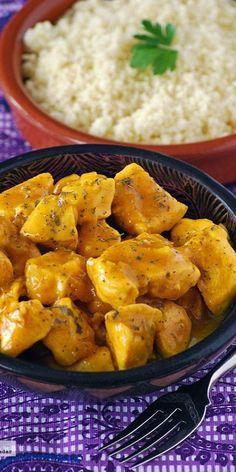 Receta fácil de pechuga de pollo a la naranja | https://lomejordelaweb.es