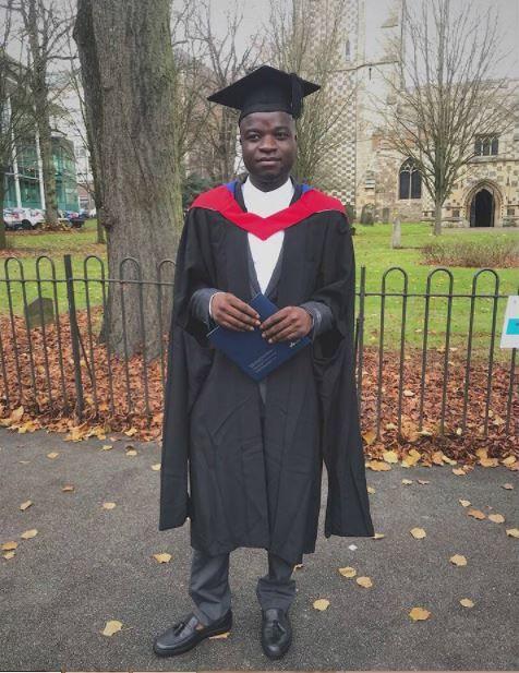 Nigerian Man Shines Abroad Bags Distinction From London University (Photos)  http://ift.tt/2AR8Bft