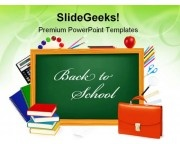 Back To School Education PowerPoint Templates And PowerPoint Backgrounds 0211
