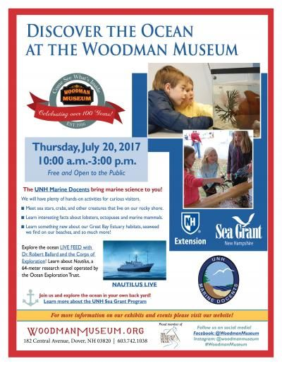 Discover the Ocean at the Woodman Museum