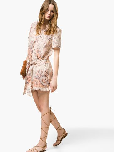 LOOSE-FITTING SILK JUMP-SUIT - Dresses - WOMEN - United Kingdom