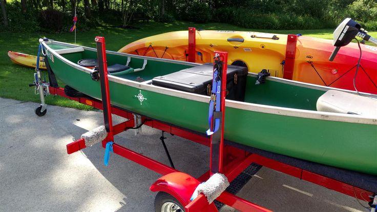 Homebuilt Canoe & Kayak Trailer