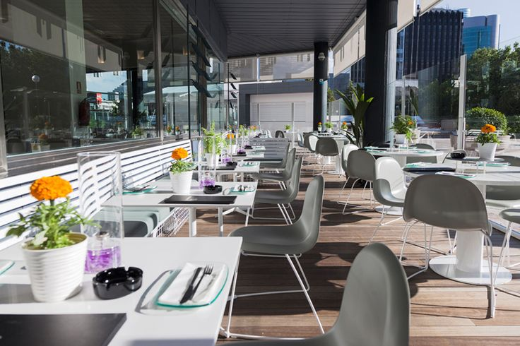 Terraza lateral los restaurantes que amamos pinterest - Terrazas romanticas madrid ...