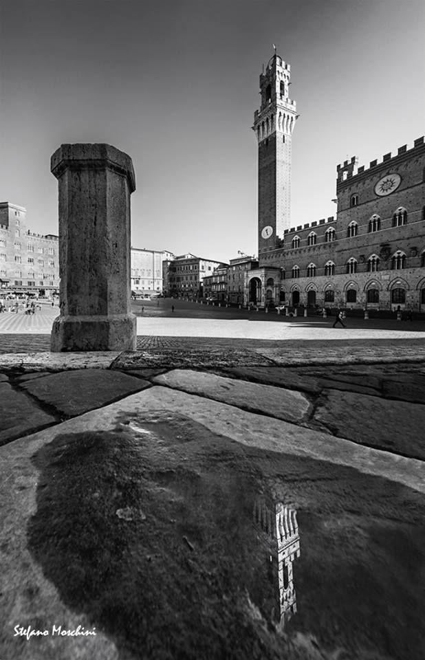 Piazza del Campo - Foto di Stefano Moschini - #Siena #Toscana #PiazzaDelCampo
