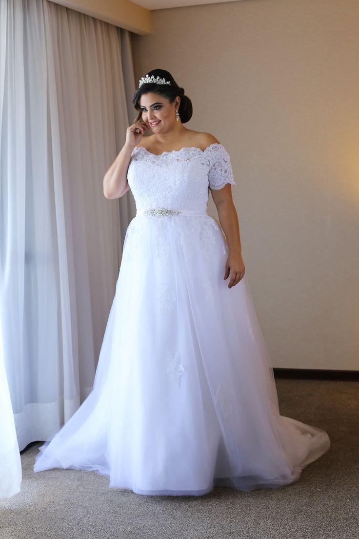 Cece wedding dress   best Curvy Bridal Dresses images on Pinterest  Short wedding