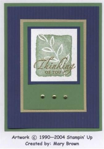 All I Have Seen by stampercamper - Cards and Paper Crafts at Splitcoaststampers