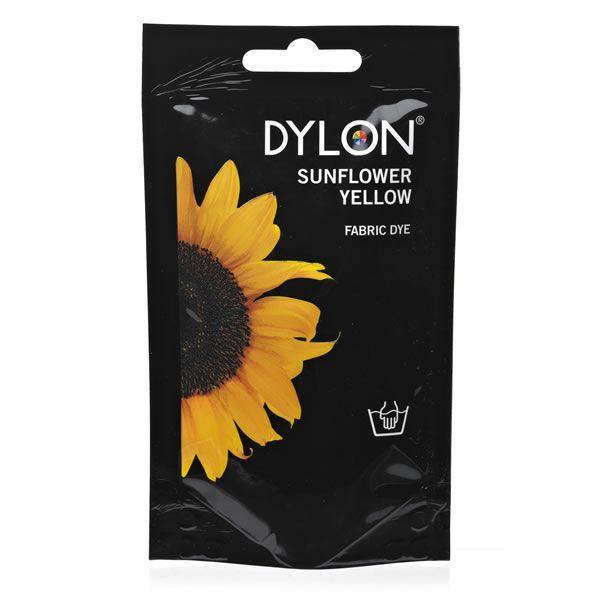DYLON Elde Boyama - Ayçiçeği Sarı - Sunflower Yellow Fabric Dye - Elde Boyama www.gagva.com.tr