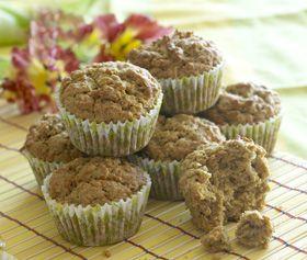 Glutenfri gulerods-kokos-muffins