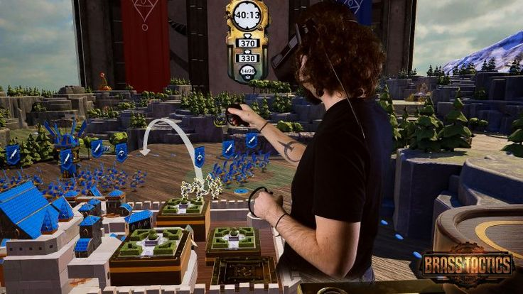 How Hidden Path Designed Real-Time Strategy Game Brass Tactics for VR