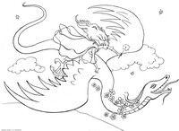 Верхом на драконе - скачать и распечатать раскраску. Раскраска Принцесса летает на драконе, волшебница, фея, раскраска феи, разукраски девочкам