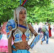 Kida (Atlantis: The Lost Empire) cosplay. Image credit: April Wilson/ Cosplay City Magazine.