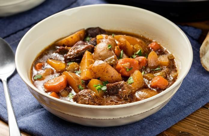 Slow Cooker Hearty Beef Stew Recipe In 2021 Hearty Beef Stew Slow Cooker Slow Cooker Soup Slow Cooker Beef Stew
