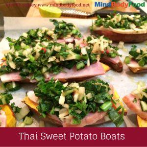 Sweet Potato Boats [Recipe]
