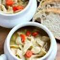 Chicken Noodle Soup - Table for Two
