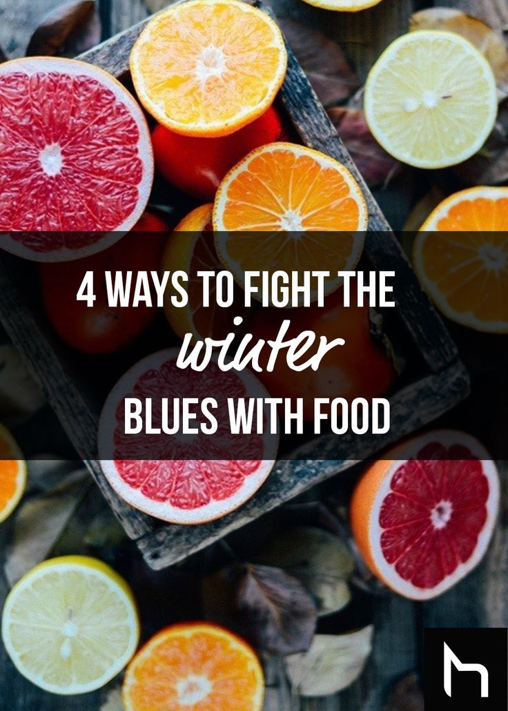 4 ways to fight the winter blues with food