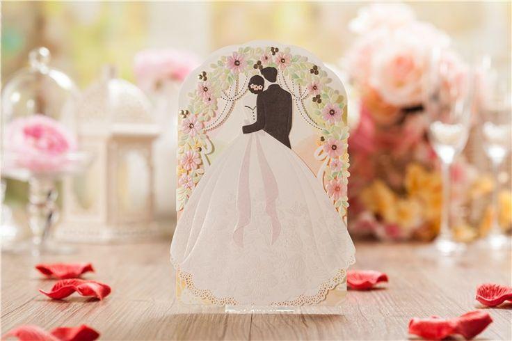 Мода привлекательным карты элегантный лазерной резки бумаги событие ну вечеринку поставки цветочное оформление цветочный любовника романтические свадебные приглашения купить на AliExpress