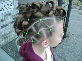 Crazy hair day at school coming up...