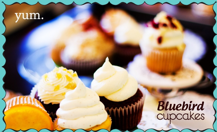 BlueBird Cupcakes - delicious cupcakes catered for your event. Raleigh, NC