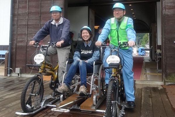 まちなかコース レールマウンテンバイク Gattan Go マウンテンバイク 神岡