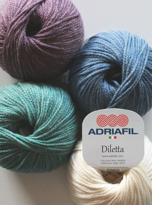 #Spring #Adriafil #Diletta http://bit.ly/AdriafilDilettaUK: which color are you this evening?