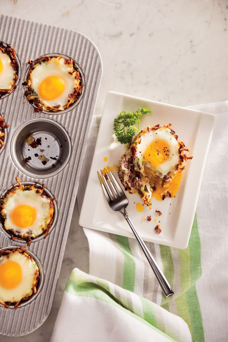 Corned Beef Hash 'n Egg Cups from Save Mart