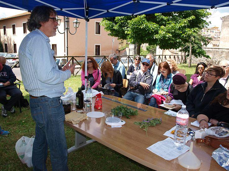 dott. Maurizio Morelli spiega la preparazione di un docotto.