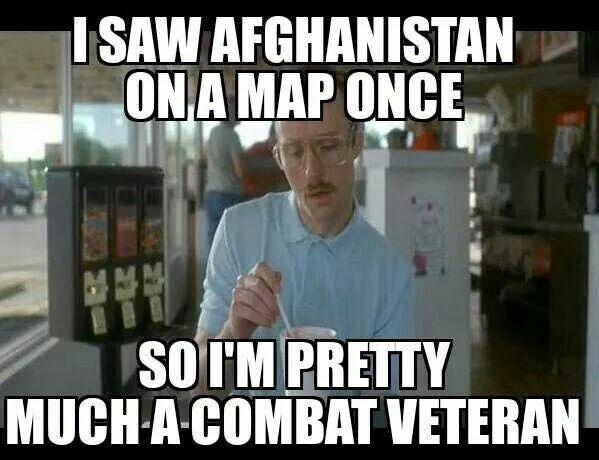 Image result for stolen valor memes