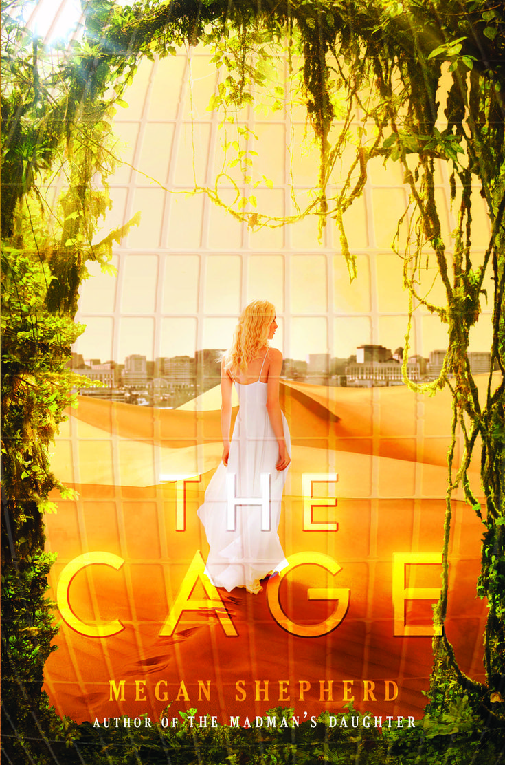 Cover Reveal (+giveaway): The Cage