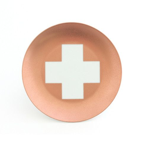 Copper Cross Plate www.cloudninecreative.co.nz
