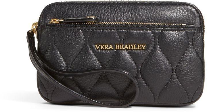 Vera Bradley Quilted Sophie Wristlet