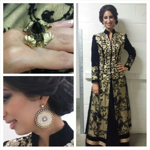 Hosting Rahat Fateh ali Khan in Leeds. OUTFIT by Ayah Couture & jewellery by Amrapali :))))