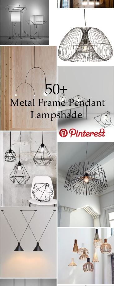 50+ Metal Frame Pendant Lampshade That goes Perfectly with your Minimal Decor  #lamp #metal #frame #pendant #lampshade #minimal #decor #lights #idea #best