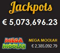 The #MegaMoolah jackpot is now over €2,385,000.00 Play now and good luck at GoWild Casino  ♥ http://bit.ly/1aSrjAS  #megamoolah   #jackpot #casinobonus #casinojackpot #slotjackpot #slots #bestslots #slotmachines #videoslots #onlineslots #onlinecasino