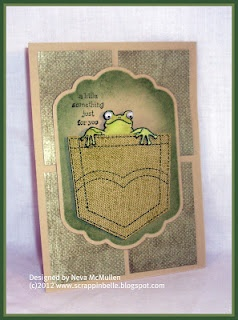 this is a VERY cute card! I must have these sets!