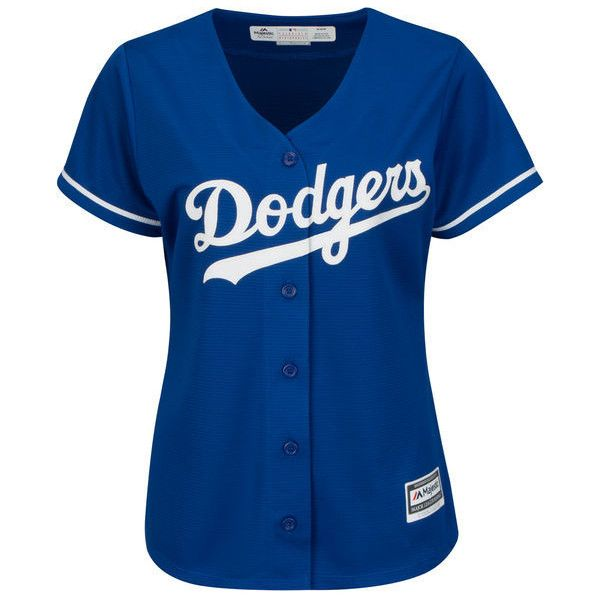 Women's Los Angeles Dodgers Joc Pederson Majestic Royal Alternate Cool... (£77) ❤ liked on Polyvore featuring tops, mlb jerseys, blue jersey, jersey top, blue dodgers jersey and los angeles dodgers jersey