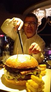The big burger challenge at the Hippodrome http://www.frostmagazine.com/2016/09/the-big-burger-challenge-at-the-hippodrome/ via @frostmag #burgers #London #food #foodporn