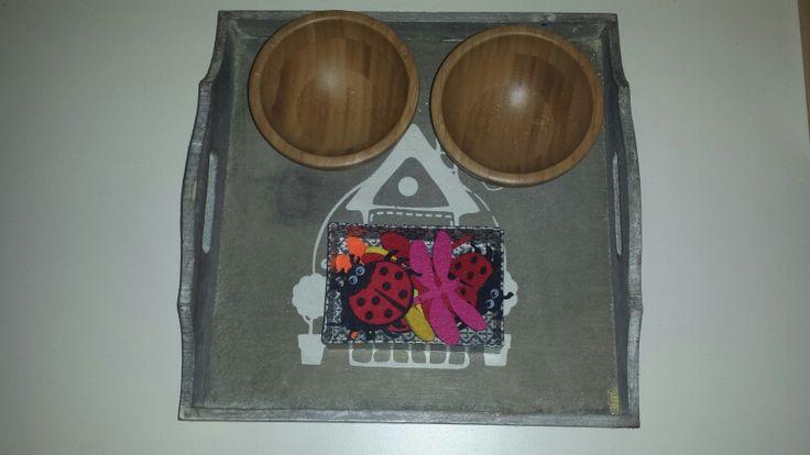 I miei vassoi ♡: selezionare oggetti diversi #montessori