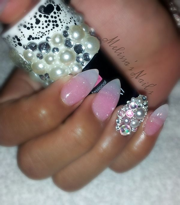 Best 25 rounded stiletto nails ideas on pinterest square roundalmond shaped nails prinsesfo Gallery