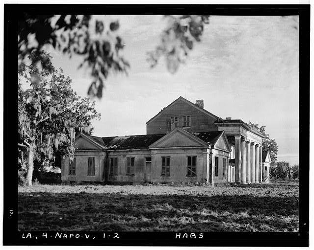 2.  Historic American Buildings Survey Richard Koch, Photographer September, 1936 NORTH ELEVATION - Woodlawn Plantation, State Highway 77, Napoleonville, Assumption Parish, LA