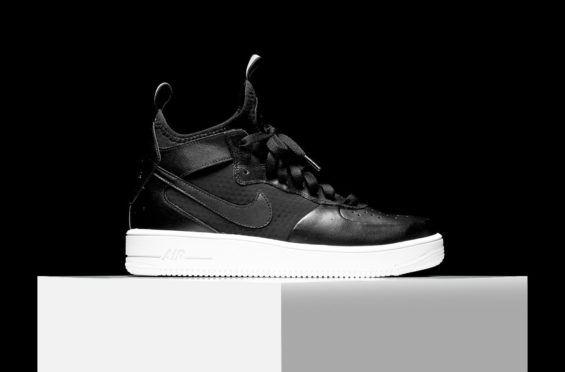 http://SneakersCartel.com More Images Of The Nike Air Force 1 Ultra Force Mid Jet Black #sneakers #shoes #kicks #jordan #lebron #nba #nike #adidas #reebok #airjordan #sneakerhead #fashion #sneakerscartel