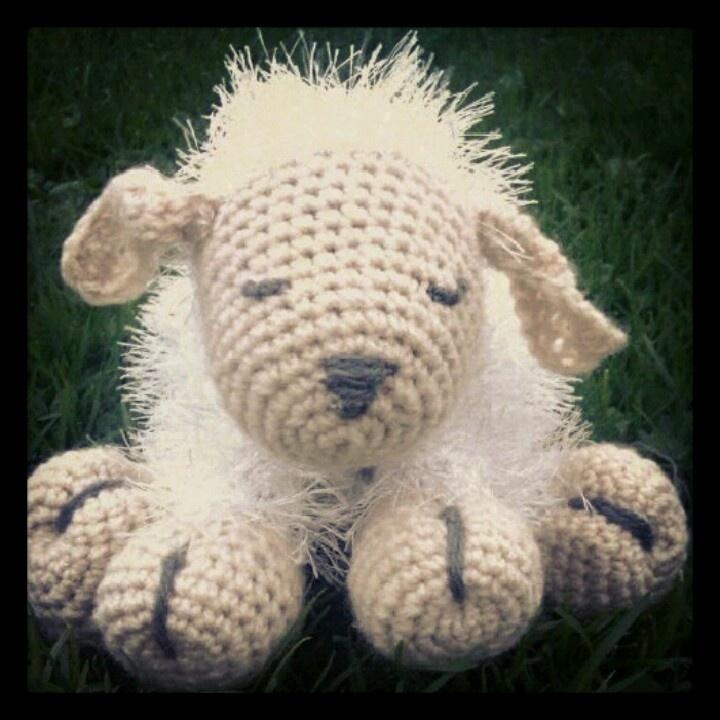 Crochet sheep , sweet, love..