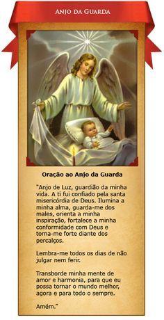 ✿⊱♥ Oração ao Santo Anjo da Guarda