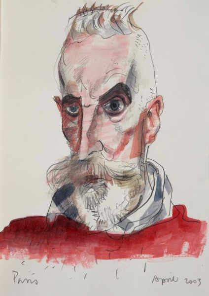 another lovely self portrait by John Byrne    ( http://johnbyrneart.com/9/ )